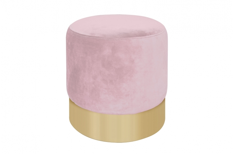 V Lab Meubels : Ella poef roze overige meubels stoop furniture